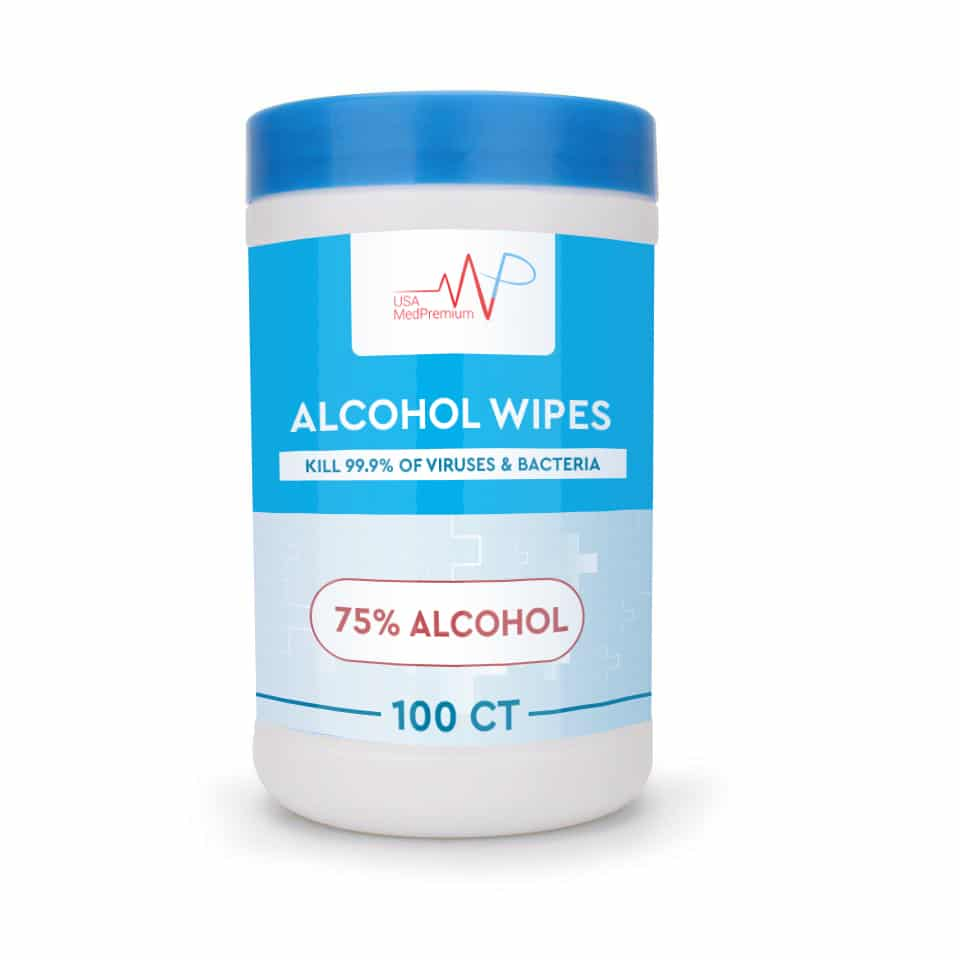 Alcohol Canister Wipes