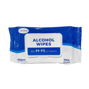 Caresour 75% Alcohol Wipes (EPA REGISTERED)